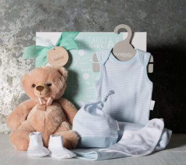 Classic Essentials Baby Boy Hamper